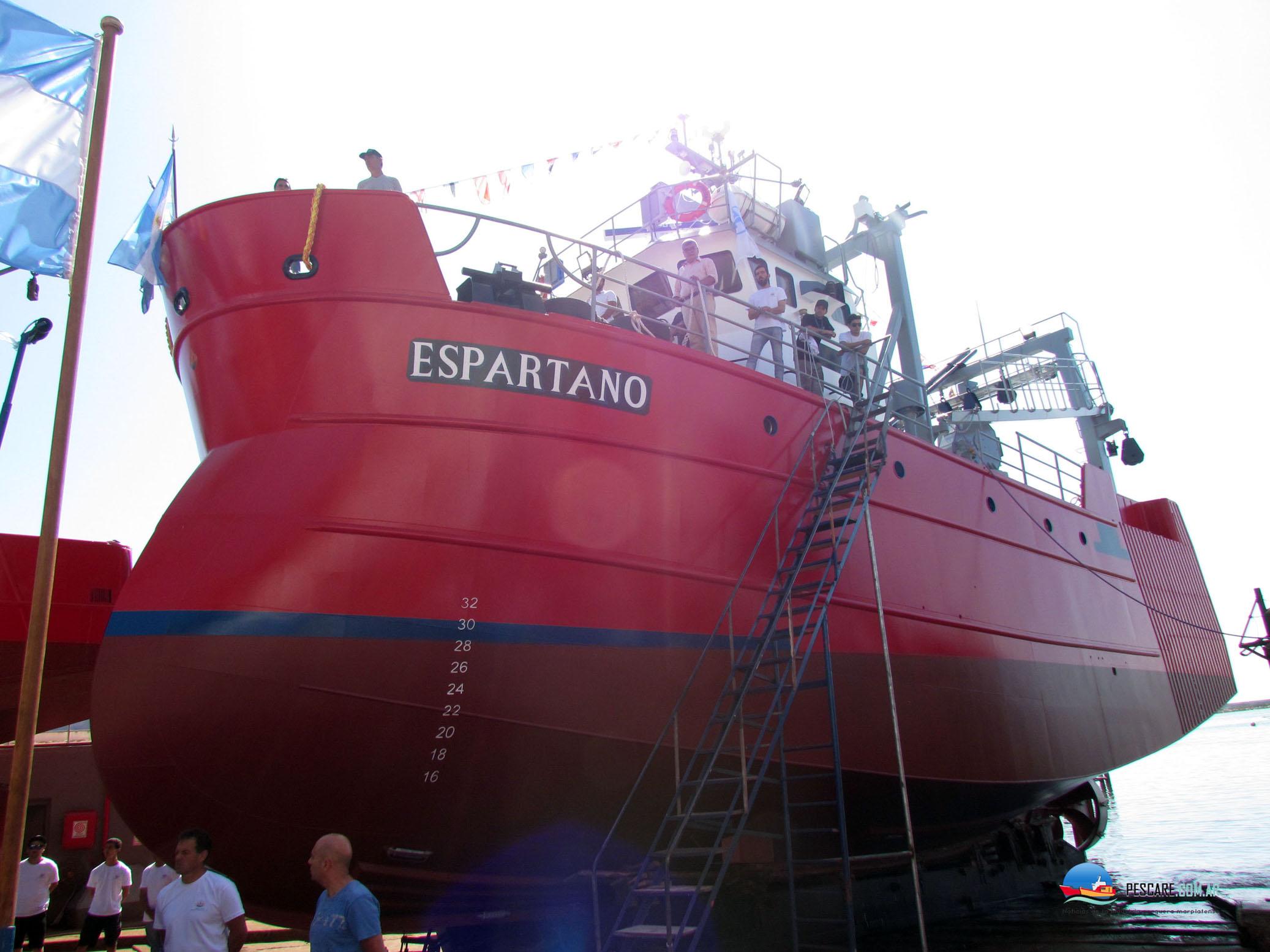 Astillero Contessi de Mar del Plata, botó a un tangonero de moderno diseño